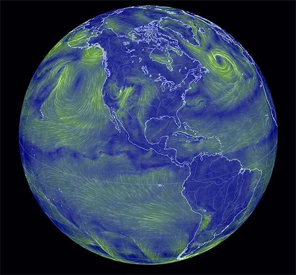 129 Visualisation of global weather conditions small