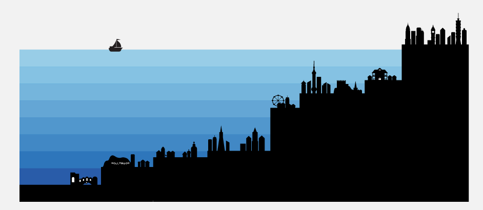 When Sea Levels Attack! — Information is Beautiful